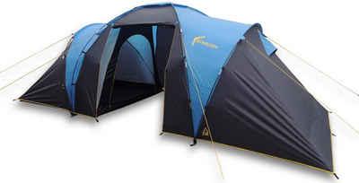 Best Camp Kuppelzelt »Bunburry 4«, Personen: 4 (Set, 2 tlg., mit Transporttasche)