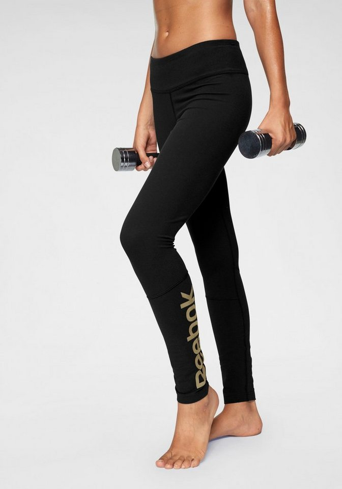 Damen Reebok  Leggings DECIMAS TIGHT schwarz | 04060516755722