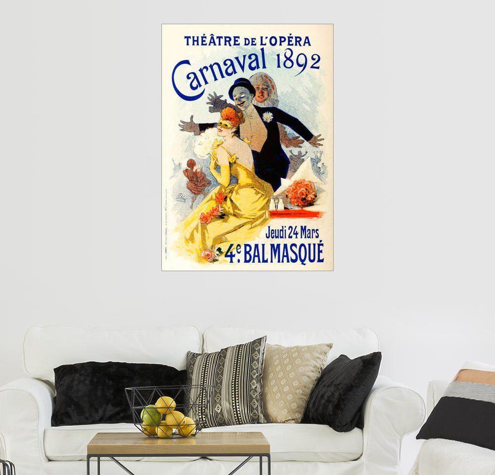 Posterlounge Wandbild - Jules Cheret »Carnaval«