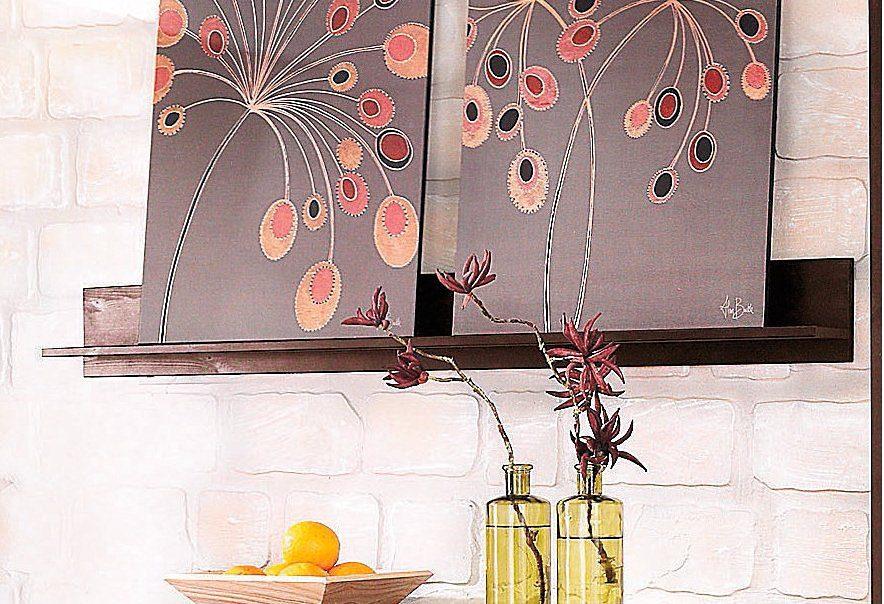Wandbord, Home affaire, »Relief«, Breite 130 cm