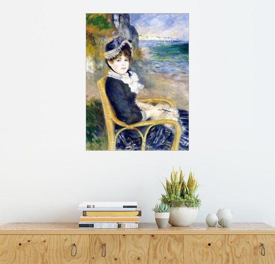 Posterlounge Wandbild - Pierre-Auguste Renoir »Vor der Küste«