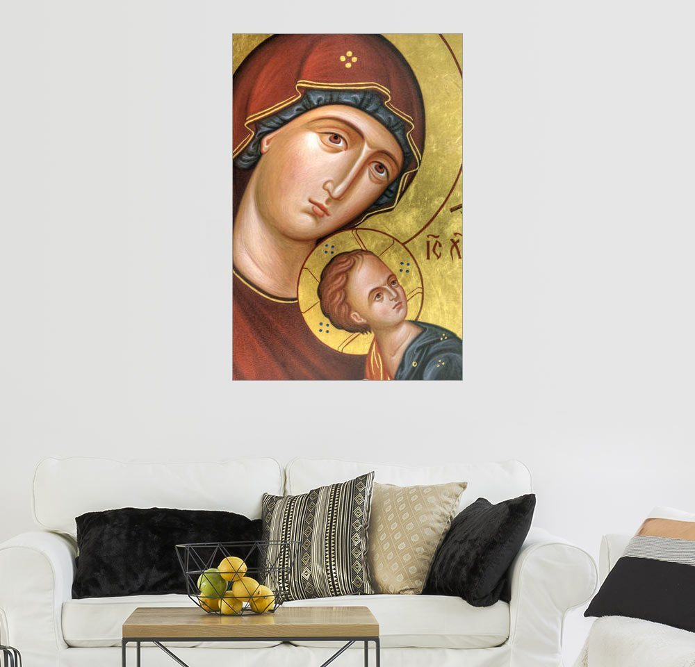 Posterlounge Wandbild »Mutter Gottes Jesus Christus«