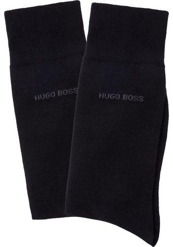 Herren Hugo Boss Herrensocken 2P RS Uni (2 Paar) schwarz | 04029047874043