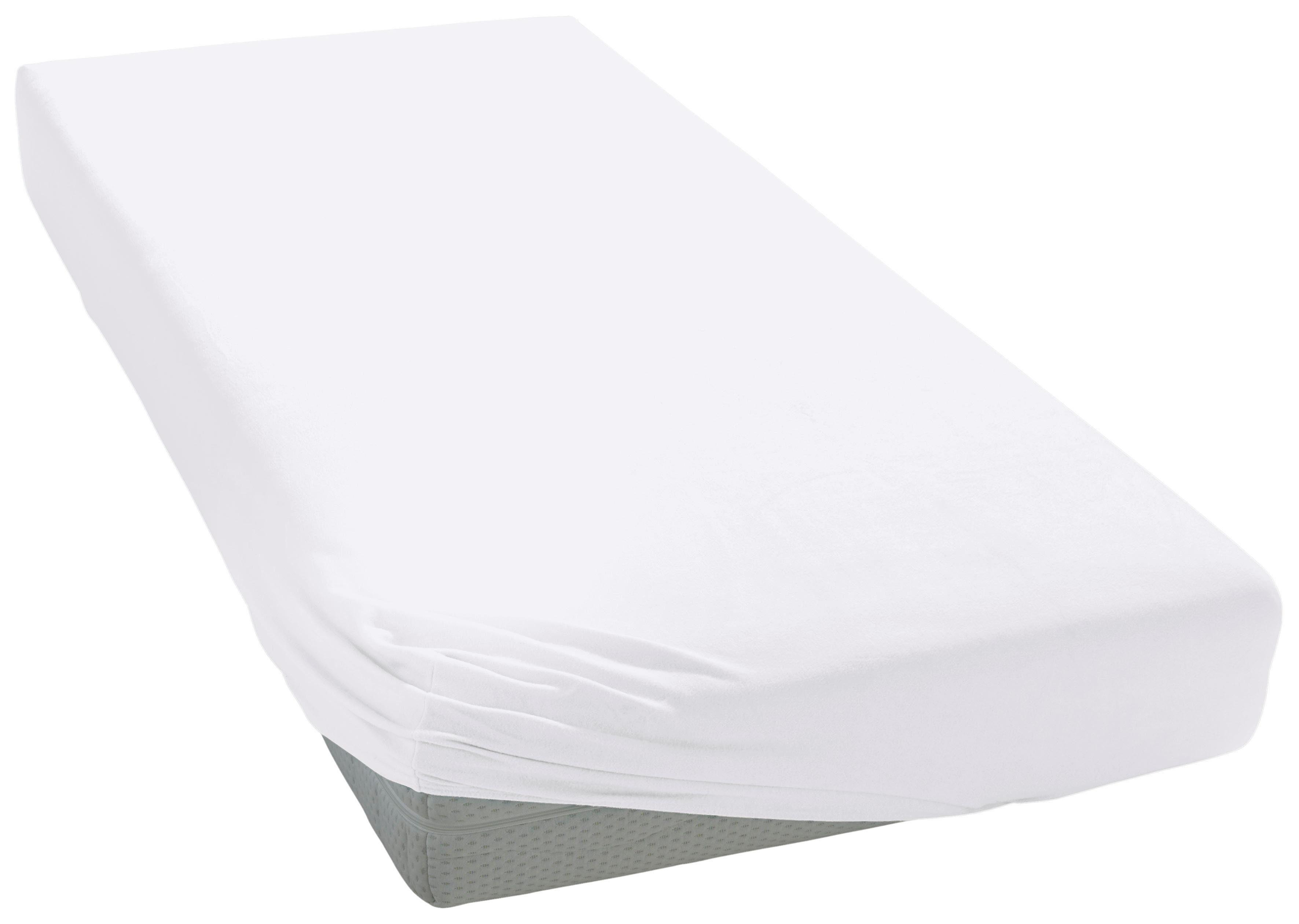 Babybay xl boxspringbett in weiß inkl rollen matratze und