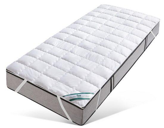 Matratzenauflage »TENCEL™«, f.a.n. Schlafkomfort, 0,5 cm hoch, Baumwolle, Hervorragender Feuchtigkeitstransport