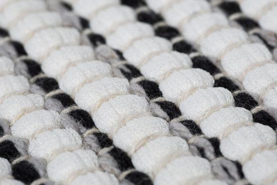 Teppich »Milo 1«  Andiamo  rechteckig  Höhe 5 mm  Flachgewebe  reine Baumwolle