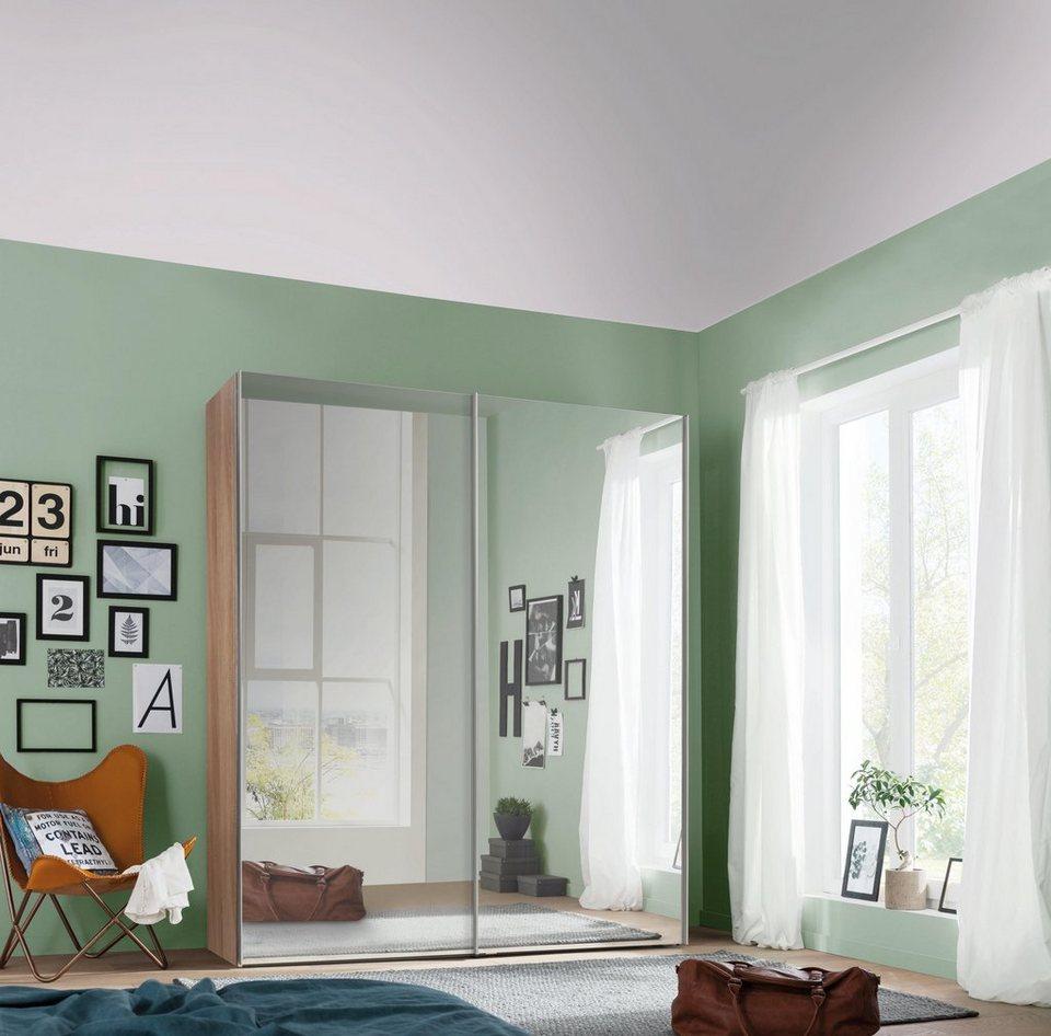 express m bel schwebet renschrank mit spiegel in 2 tiefen korpus matt dekor online kaufen otto