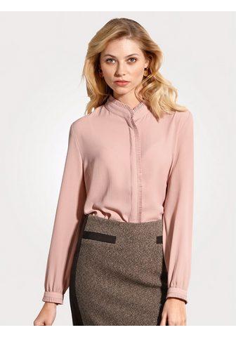 Блуза с Faltenzier