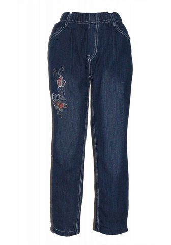 Термо-джинсы с niedlicher окантовка