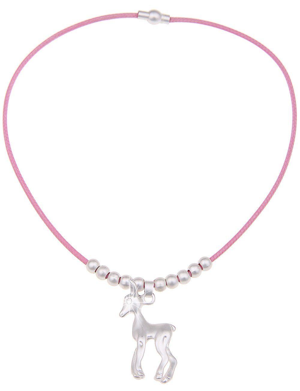 Leslii Halskette mit Reh-Anhänger