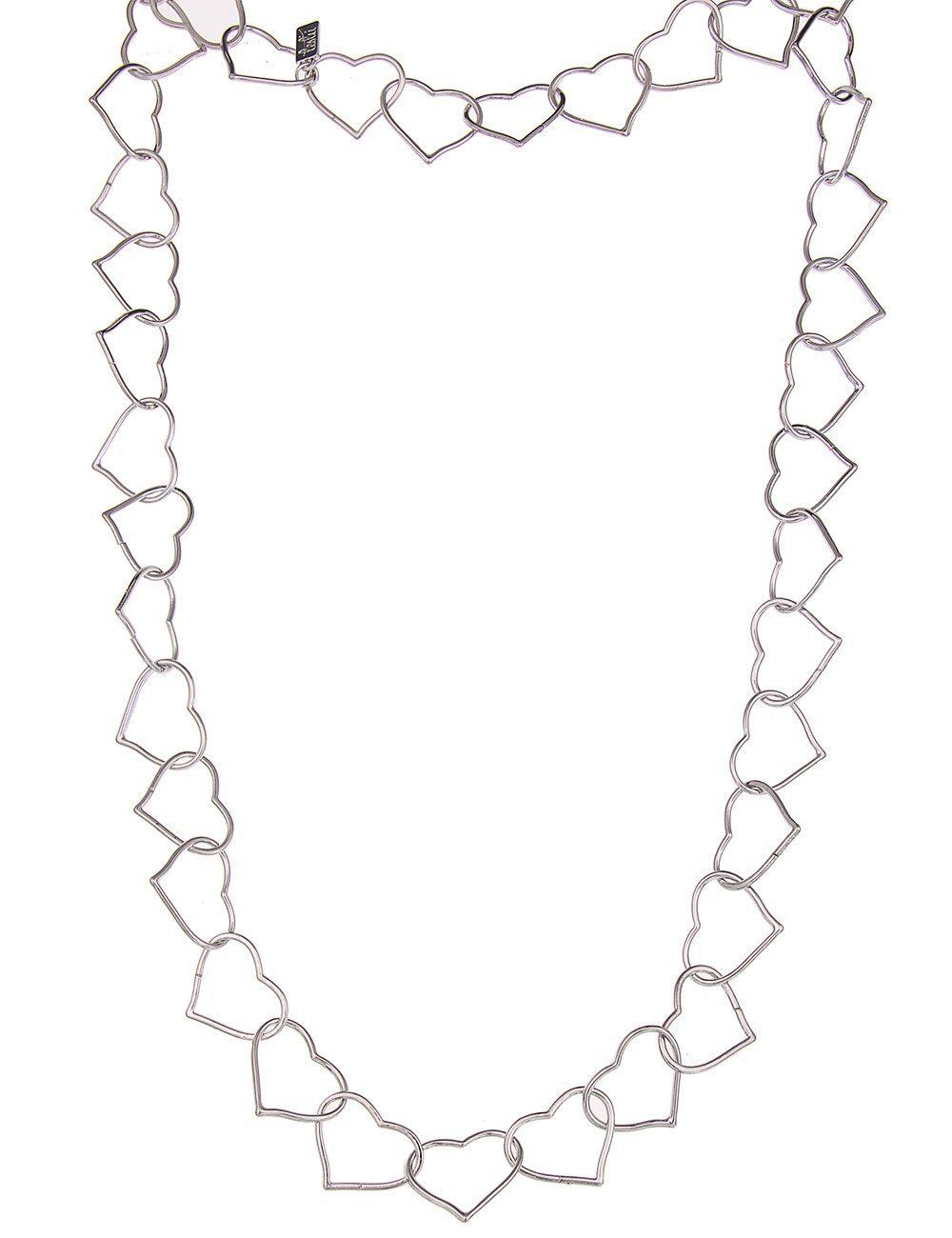Leslii Halskette mit Herzgliedern