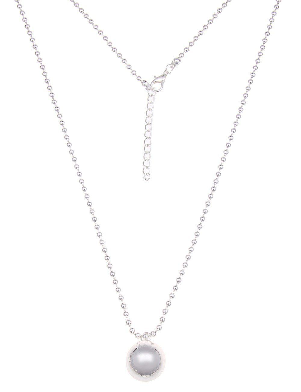Leslii Halskette mit Glanzkugel