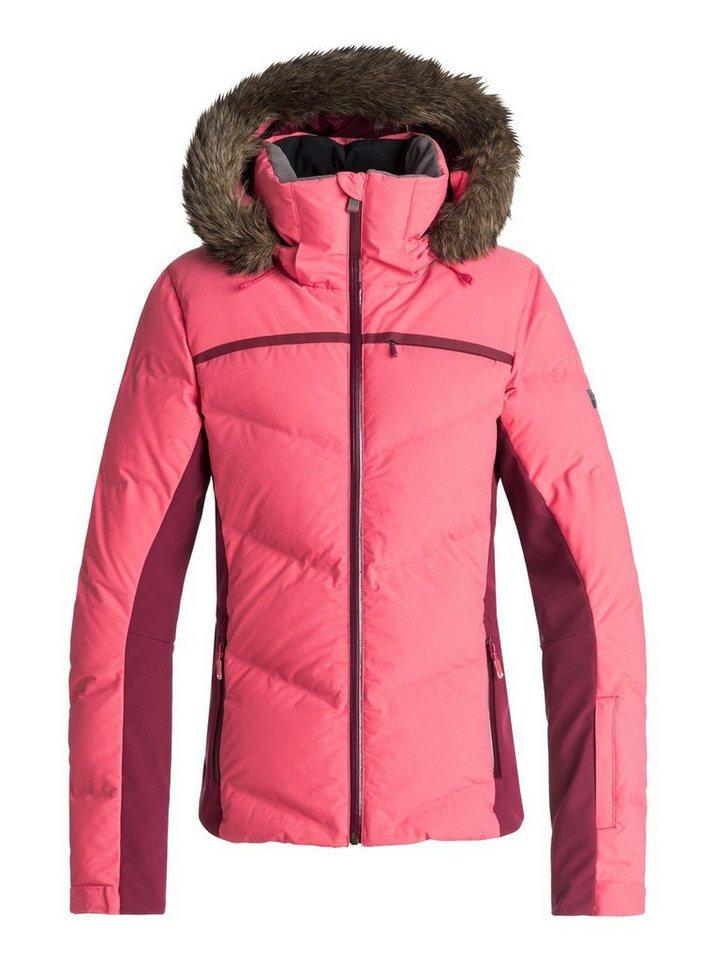 Roxy Snowboardjacke »Snowstorm« | Sportbekleidung > Sportjacken > Snowboardjacken | Rosa | Nylon - Polyester - Leinwandbindung | Roxy