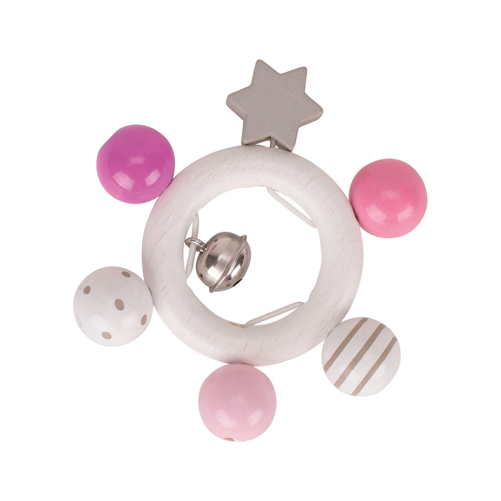HEIMESS Greifling rosa, grau, weiß