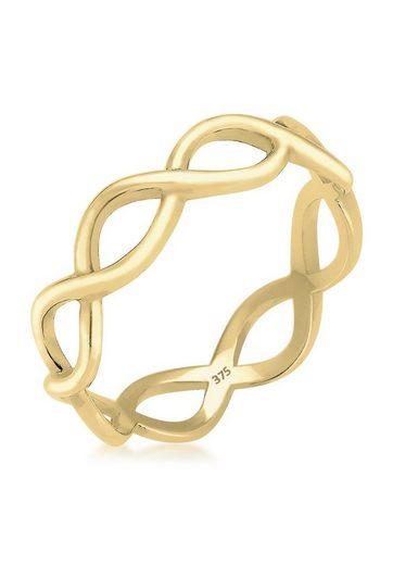 Elli Fingerring »Infinity Trend 375 Gelbgold«