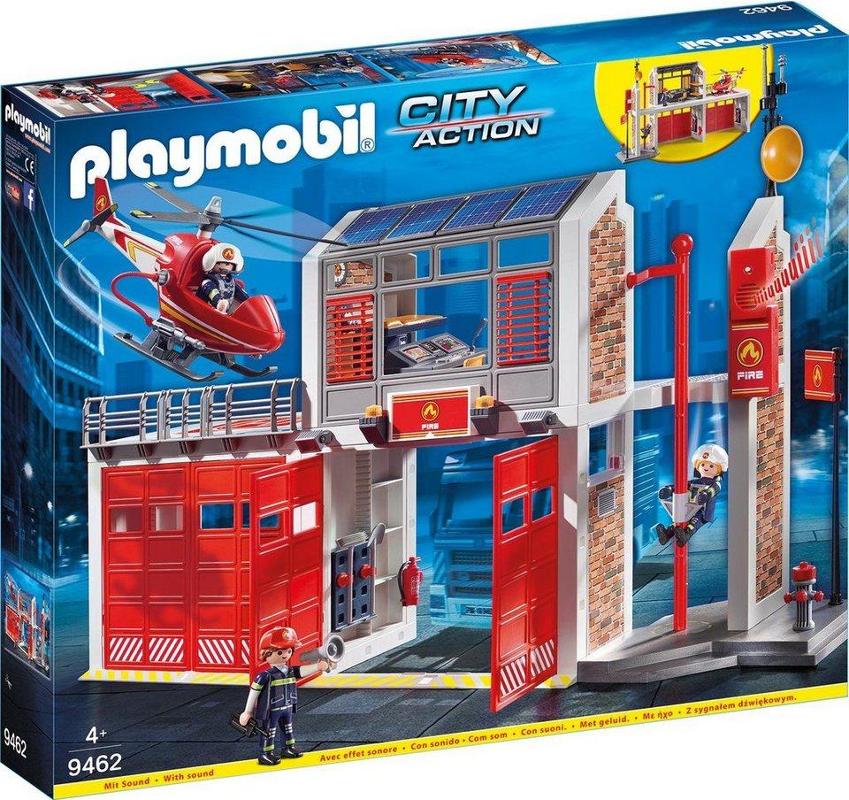 Playmobil® Große Feuerwache (9462),  City Action
