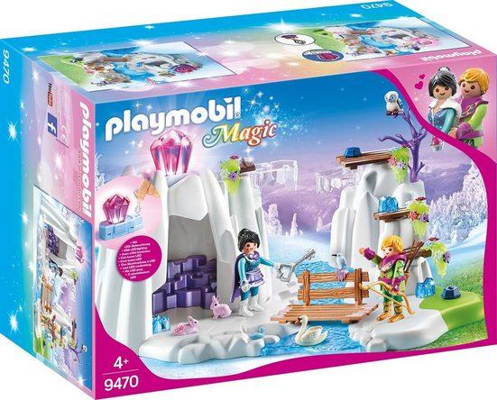 Playmobil® Konstruktions-Spielset »Suche nach dem Liebeskristall (9470), Magic«, Made in Germany