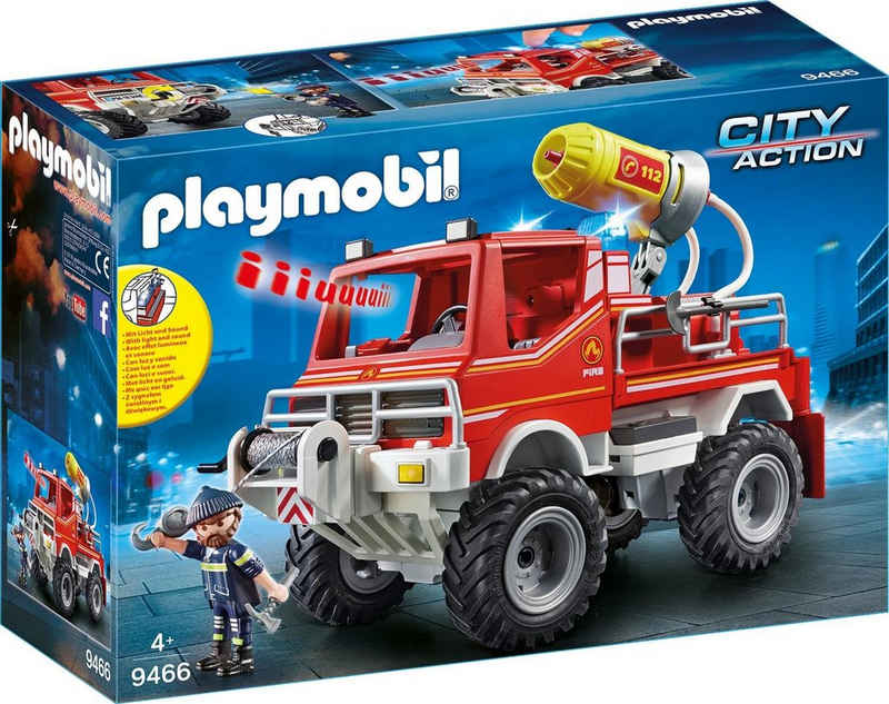 Playmobil® Konstruktions-Spielset »Feuerwehr-Truck (9466), City Action«, Made in Germany