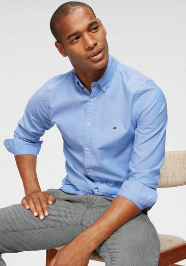 TOMMY HILFIGER Langarmhemd »CORE STRETCH SLIM OXFORD SHIRT«