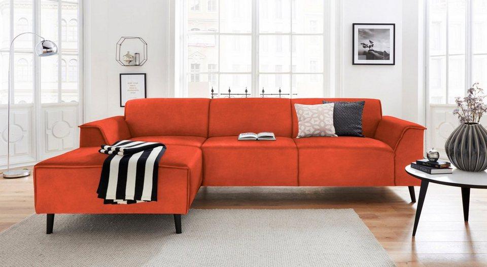 domo collection ecksofa mit recamiere inklusive. Black Bedroom Furniture Sets. Home Design Ideas