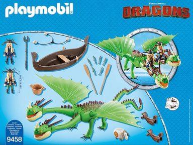 Playmobil® Raffnuss und Taffnuss mit Kotz und Würg Würg Würg (9458),  Dragons  online kaufen 22929c