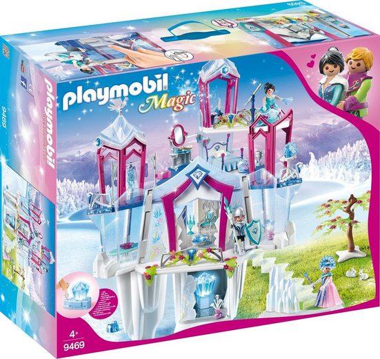 Playmobil® Konstruktionsspielsteine »Funkelnder Kristallpalast (9469), Magic«