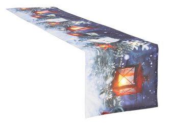 my home Tischläufer »Winterzauber«, Weihnachtsdeko