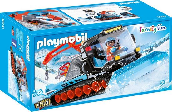 Playmobil® Konstruktions-Spielset »Pistenraupe, Family Fun«, Made in Germany
