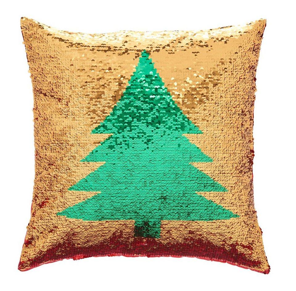kissenh lle weihnachtsbaum my home 1 st ck mit wende. Black Bedroom Furniture Sets. Home Design Ideas