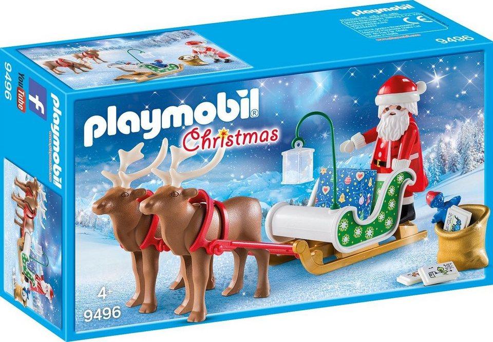 Playmobil Weihnachten.Playmobil Rentierschlitten 9496 Christmas Otto