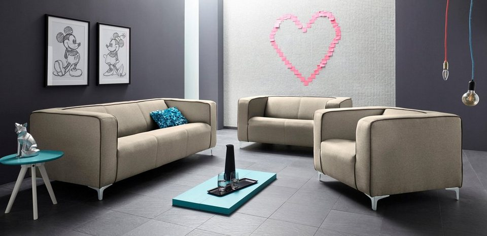 inosign garnitur breno 3tlg online kaufen otto. Black Bedroom Furniture Sets. Home Design Ideas