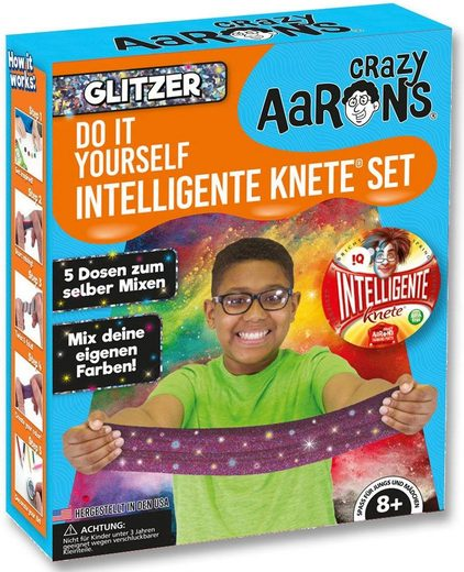 Intelligente Knete Knetgummi Set, »Do it Yourself - Glitzer«