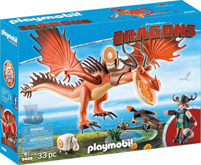 Playmobil® Rotzbakke und Hakenzahn (9459), »Dragons«