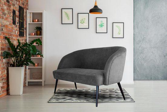 INOSIGN 2-Sitzer »Caren«, mit Keder, auch als Speisemöbel verwendbar