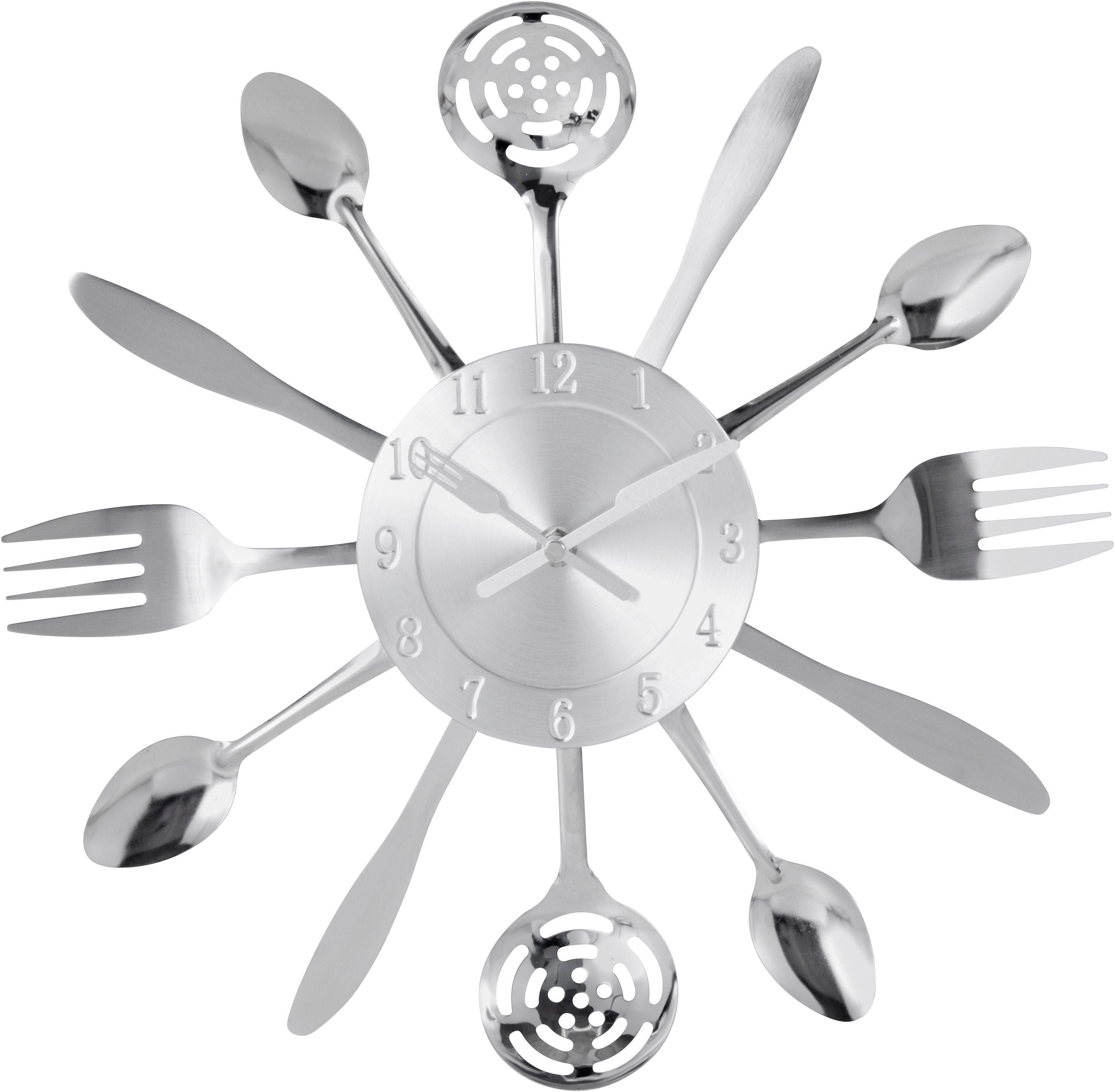 Home affaire Küchenuhr »Cutlery«
