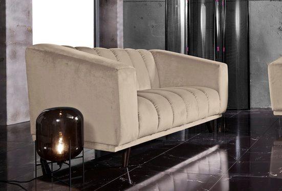 INOSIGN 2-Sitzer »Rimini«, mit ungewöhnlicher Steppung in modernem Design