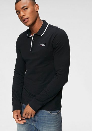 Tommy Jeans Poloshirt »TJM STRETCH LONG SLEEVE POLO«