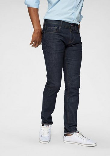 TOMMY HILFIGER Slim-fit-Jeans »CORE BLEECKER SLIM JEANS« cleane Optik