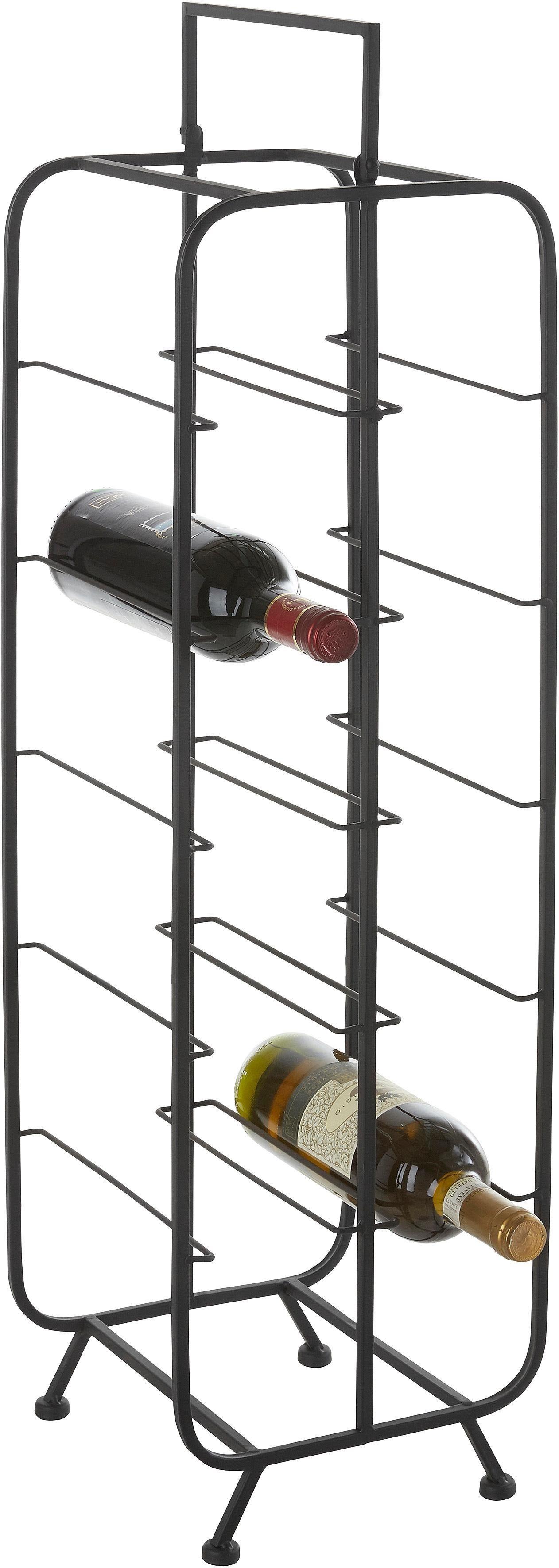 Home affaire Weinständer »Loft« für 10 Flaschen