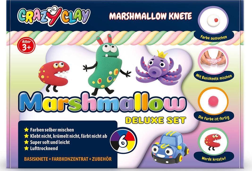 CrazyClay Marshmallow Knete, »Marshmallow Deluxe-Set«