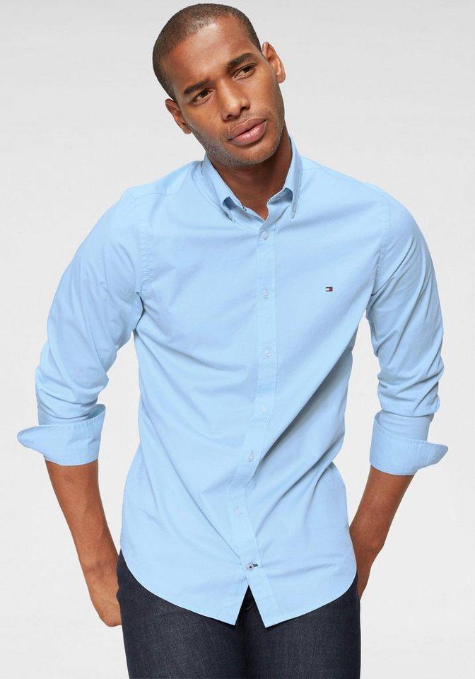 Tommy Hilfiger Hemd »CORE STRETCH SLIM POPLIN SHIRT« online kaufen ... 5b379b3c263