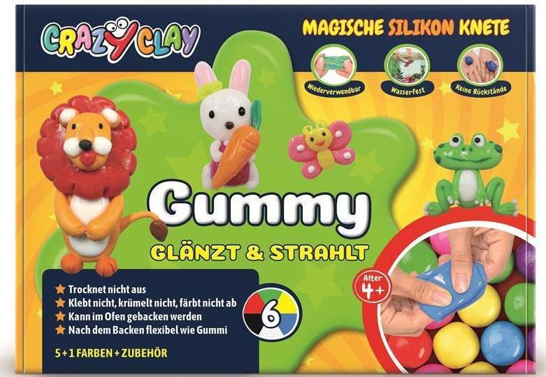 CrazyClay Magische Silikon Knete,  Gummy Basic-Set  online kaufen