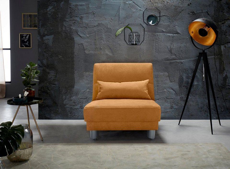 inosign schlafsofa gina mit einem handgriff vom sofa zum bett online kaufen otto. Black Bedroom Furniture Sets. Home Design Ideas