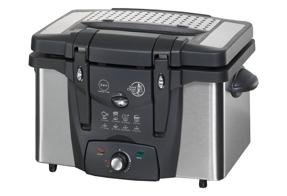 Rommelsbacher Fritteuse »Family FRT 2145/E«, 3,5 Liter, 2100 Watt in schwarz