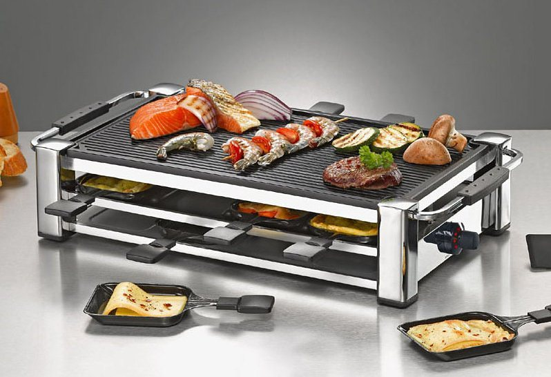 raclette raclette grill jetzt online kaufen otto. Black Bedroom Furniture Sets. Home Design Ideas