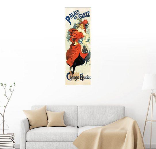 Posterlounge Wandbild - Jules Cheret »Palais de Glace - Champs Elysees«