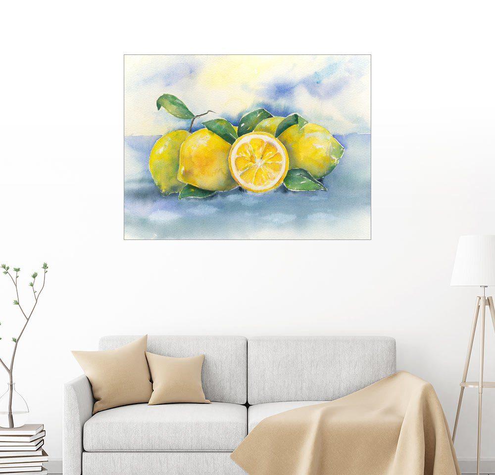 Posterlounge Wandbild - Jitka Krause »Zitronen«
