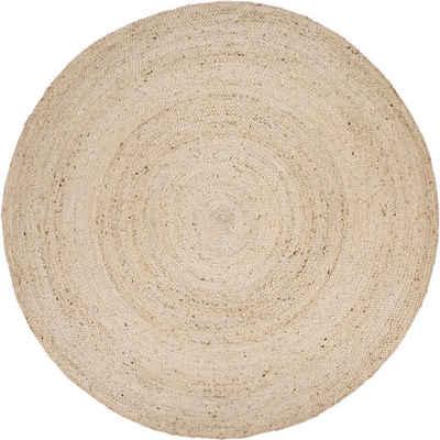Teppich »Viborg 595«, Paco Home, rund, Höhe 9 mm, handgewebt
