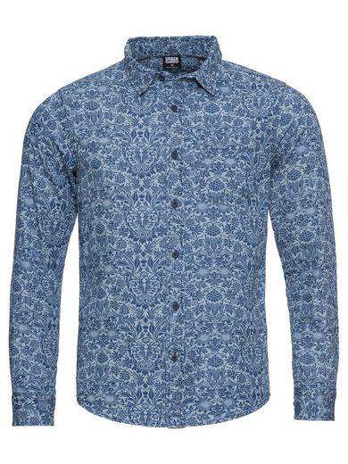 URBAN CLASSICS Langarmhemd