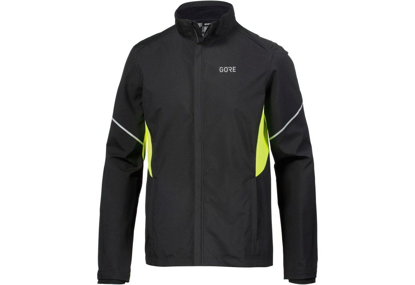 GORE® Wear Laufjacke »R3 WINDSTOPPER®«   Sportbekleidung > Sportjacken > Laufjacken   Schwarz   Polyester - Polyethylen - Elastan   GORE® Wear